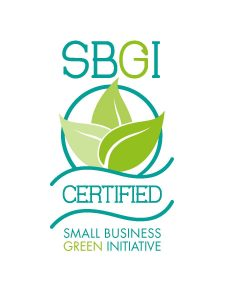 Crosby's Certified by Small Business Green Initiative