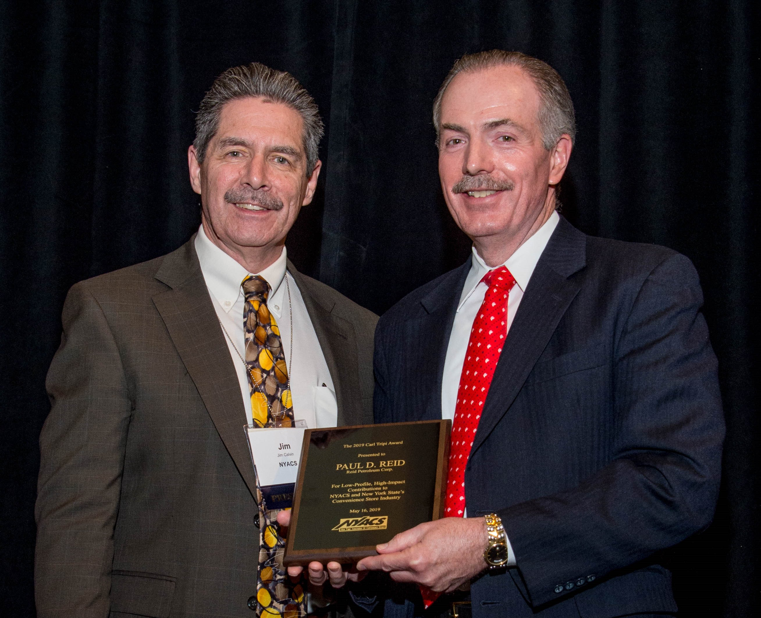 Reid Group CEO Honored with NYACS 2019 Carl Tripi Award